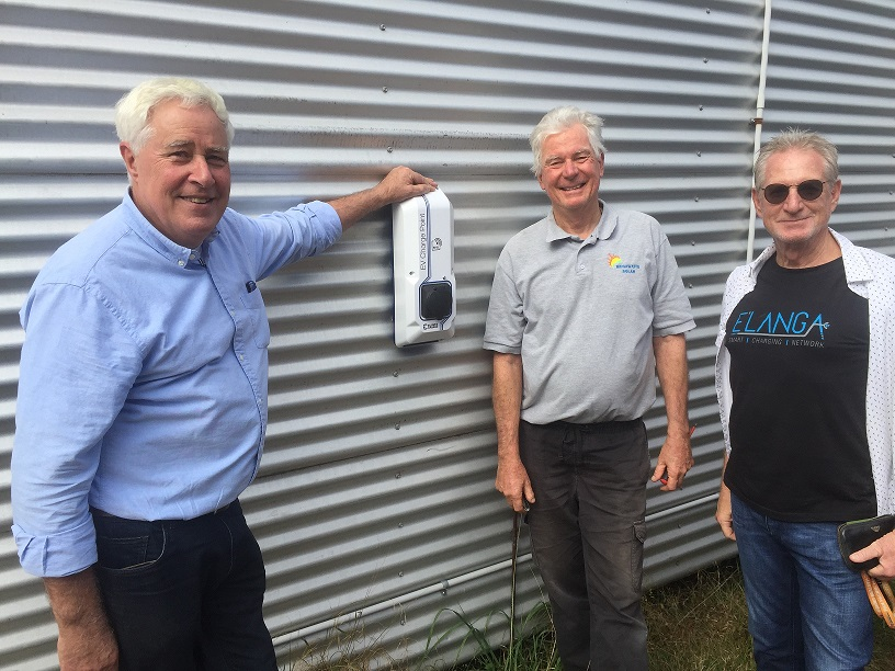 Listen to Business Manager Peter Pamment talking about our new EV Charger